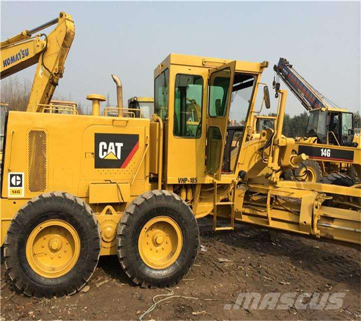 ГРЕЙДЕР CATERPILLAR USED 14 G - Photo 1